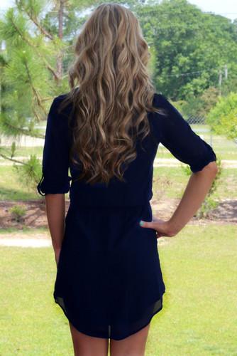 The Madison Dress: Black