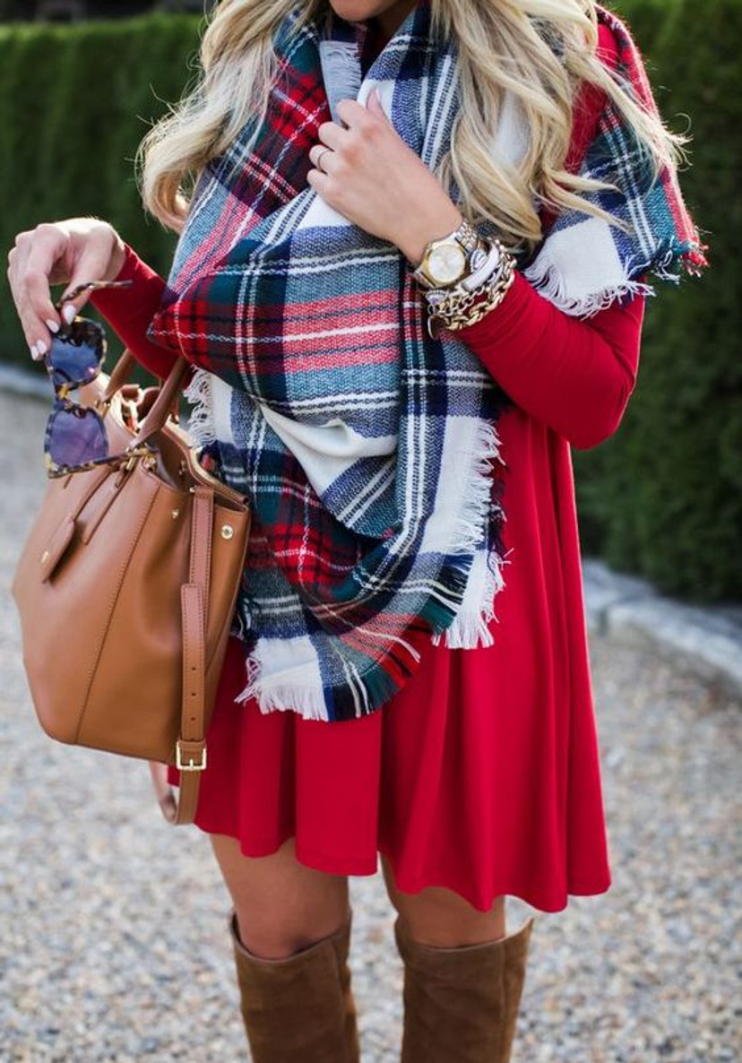 Piko Tunic: Red