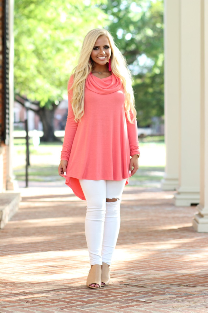 I'll Be There Tunic: Watermelon
