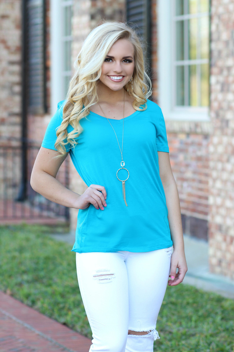 The Perfect Tee: Jade