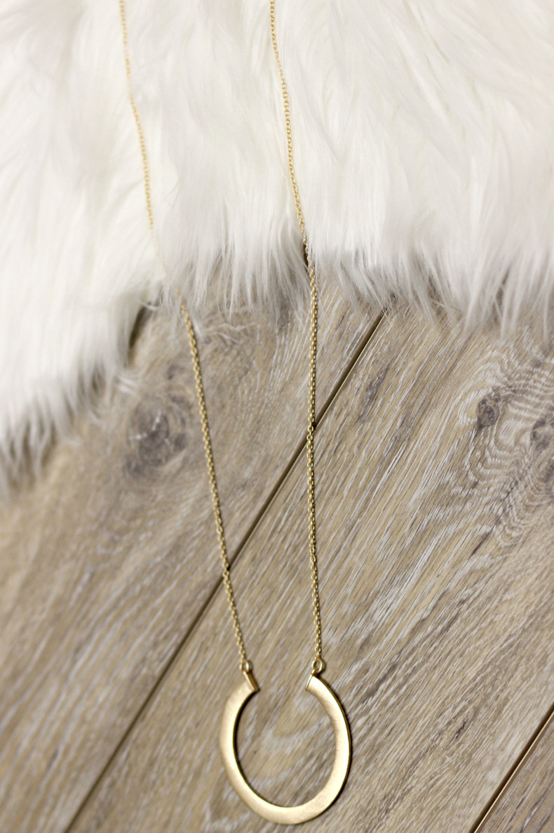 Sweet Oasis Necklace: Gold
