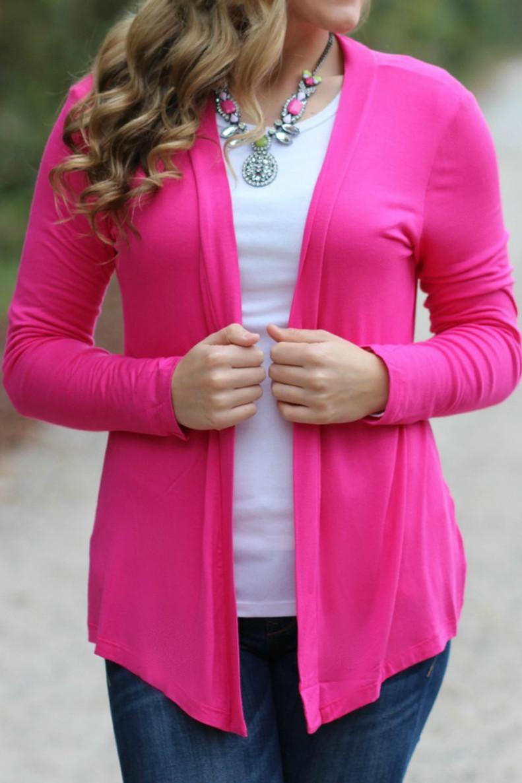 Wandering Ways Cardigan: Pink