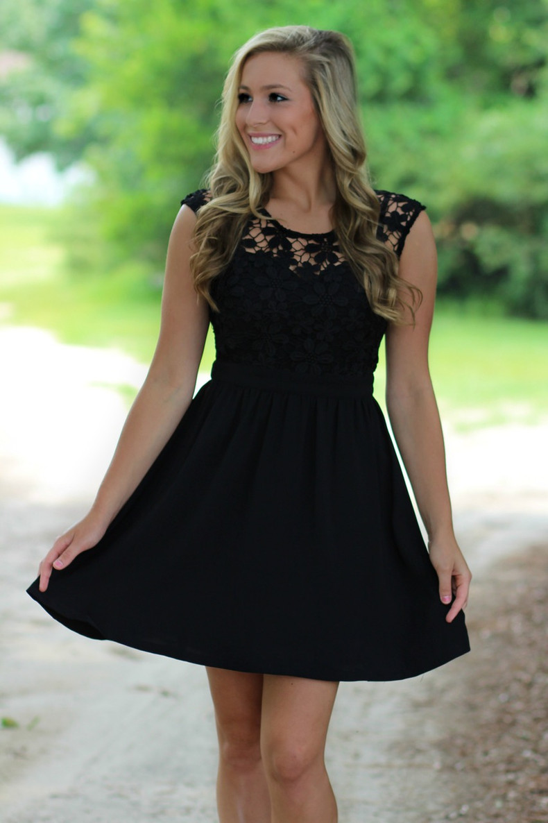 Little Black Dress: Black