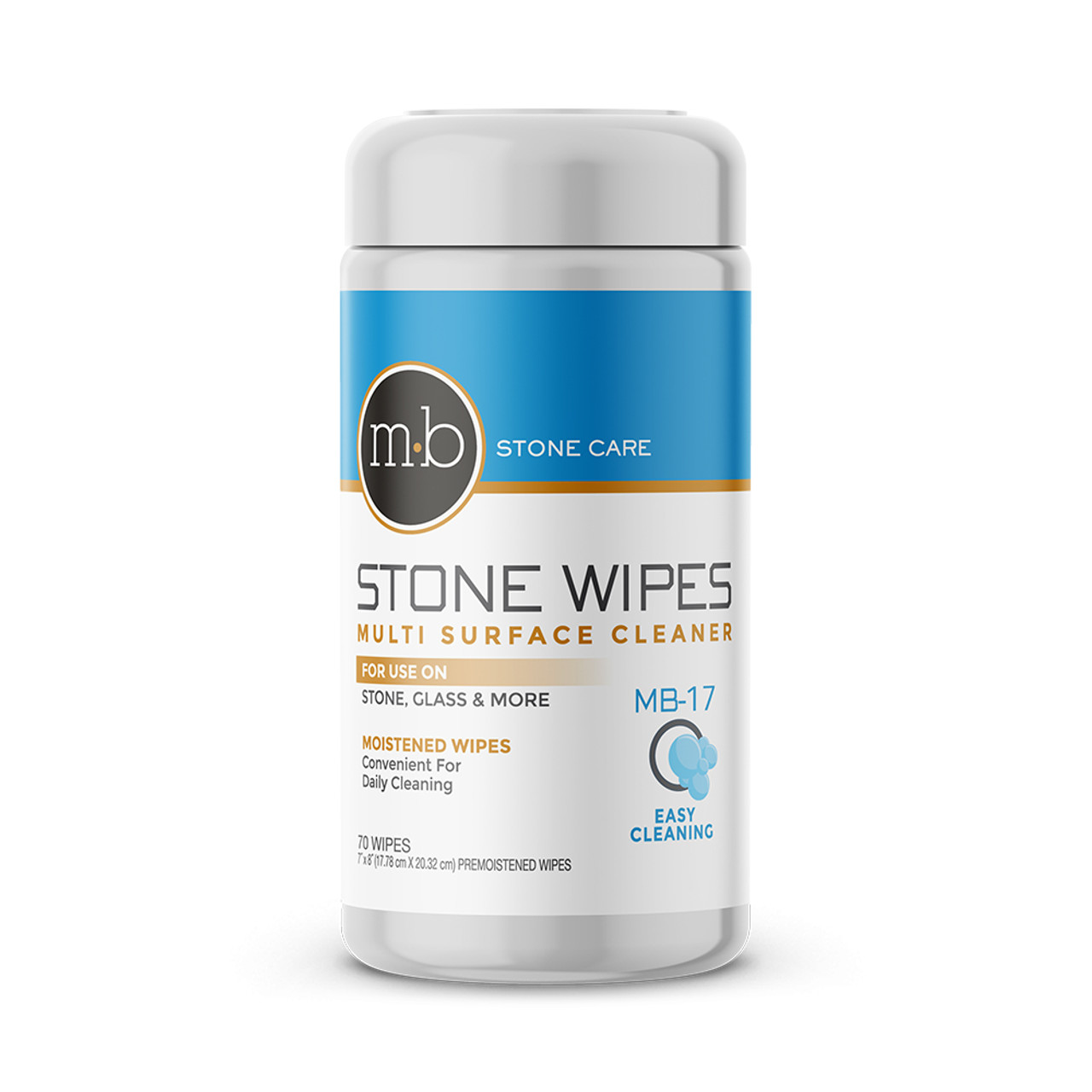 mb 17 cleaning wipes for natural stone