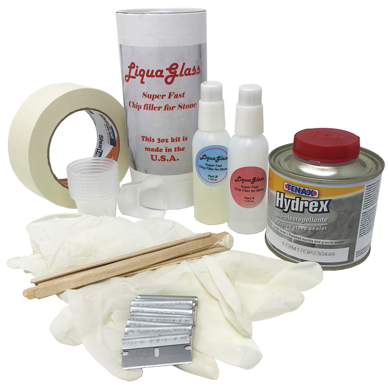 Granite Marble Chip Repair Kit
