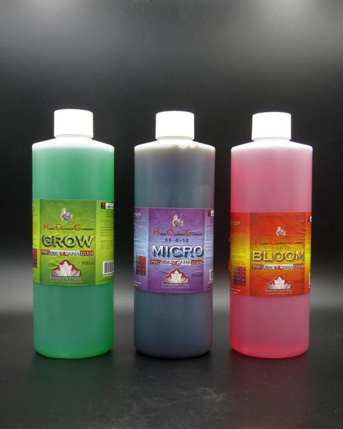 HOG Grow Micro Bloom 500ml set