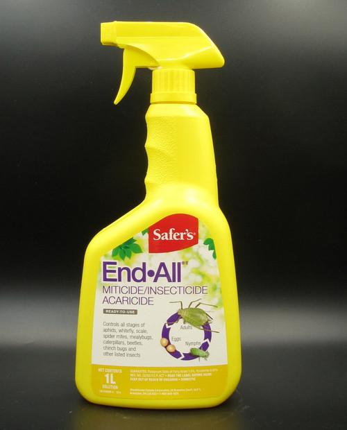 Safer's End All 1L spray bottle