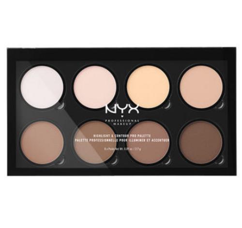NYX Highlight & Contour Pro Palette (HCPP) Lady Moss Beauty