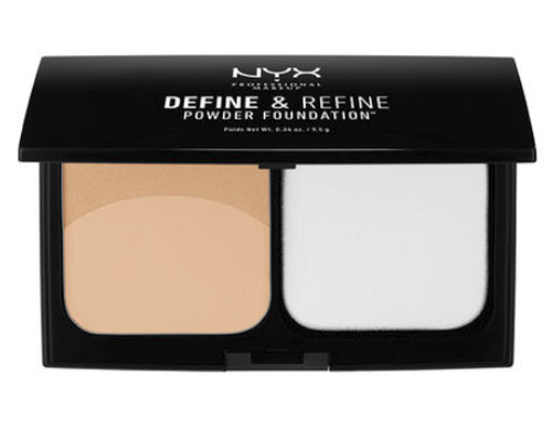 NYX Define & Refine Powder Foundation (DRPF) Lady Moss Beauty