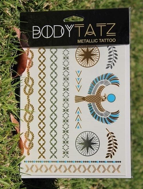 Body Tatz Metallic Tattoo - BT009