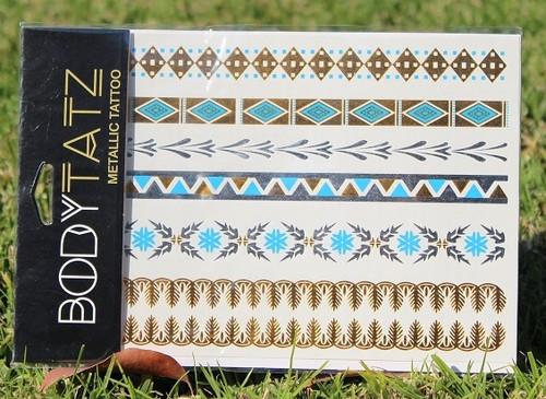 Body Tatz Metallic Tattoo - BT014
