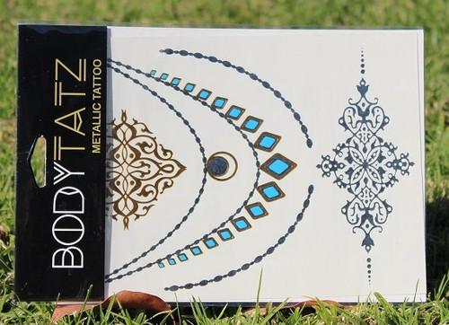 Body Tatz Metallic Tattoo - BT024
