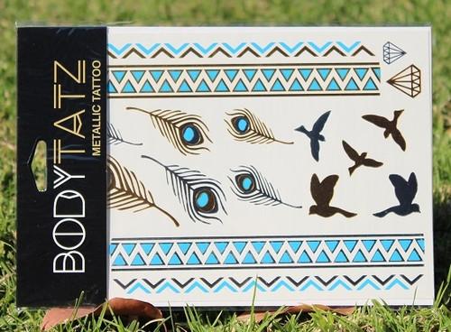 Body Tatz Metallic Tattoo - BT025