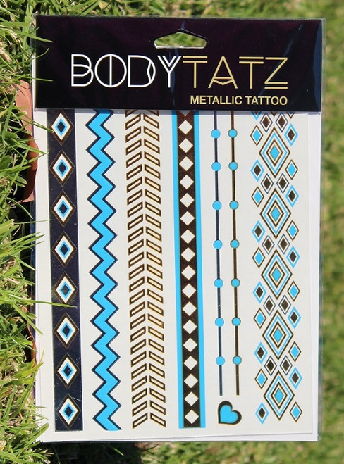 Body Tatz Metallic Tattoo - BT027