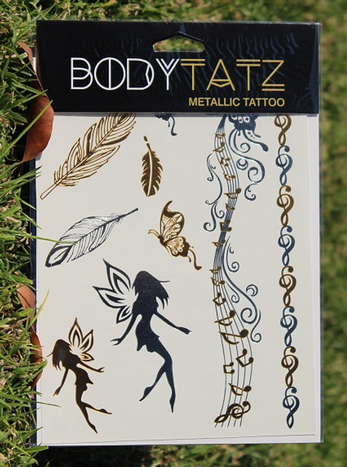 Body Tatz Metallic Tattoo - BT040