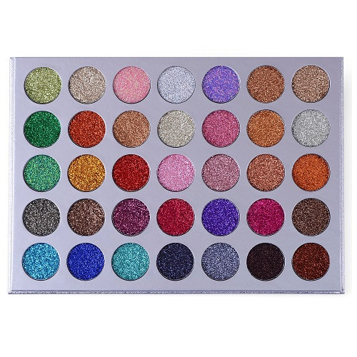 Kara Beauty ES21 - 35 Color Galaxy Stardust Shimmer Glitter Powder Kit