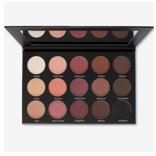 Kara Beauty ES25 - 15 Color Smoky Rose Eyeshadow Palette