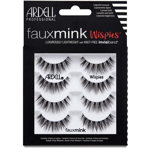 Ardell Faux Mink Wispies - 4 Pack