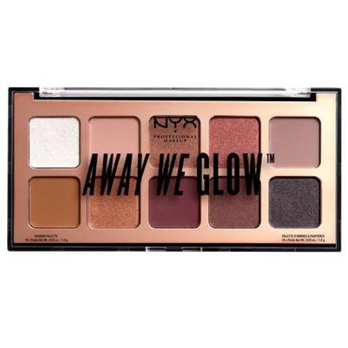 NYX Away We Glow Shadow Palette