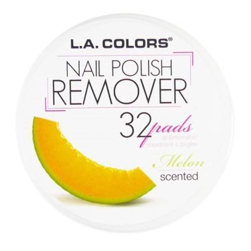 L.A. Colors Scented Polish Remover Pads - Melon (S-CNRMELON) ladymoss.com