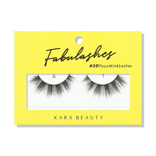 Kara Beauty A1 Fabulashes 3D Faux Mink Lashes
