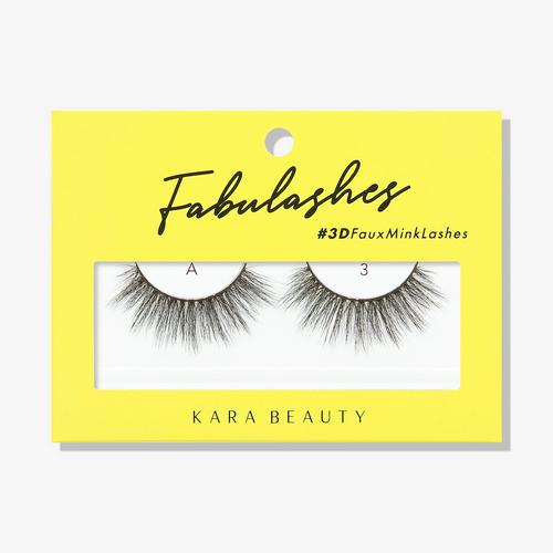 Kara Beauty A3 Fabulashes 3D Faux Mink Lashes