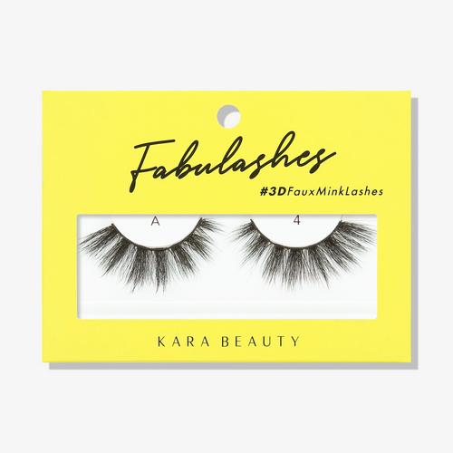 Kara Beauty A4 Fabulashes 3D Faux Mink Lashes