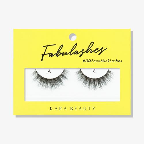 Kara Beauty A6 Fabulashes 3D Faux Mink Lashes