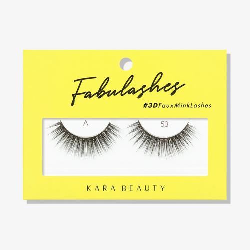 Kara Beauty A53 Fabulashes 3D Faux Mink Lashes