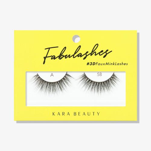 Kara Beauty A58 Fabulashes 3D Faux Mink Lashes