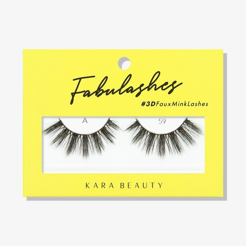 Kara Beauty A59 Fabulashes 3D Faux Mink Lashes