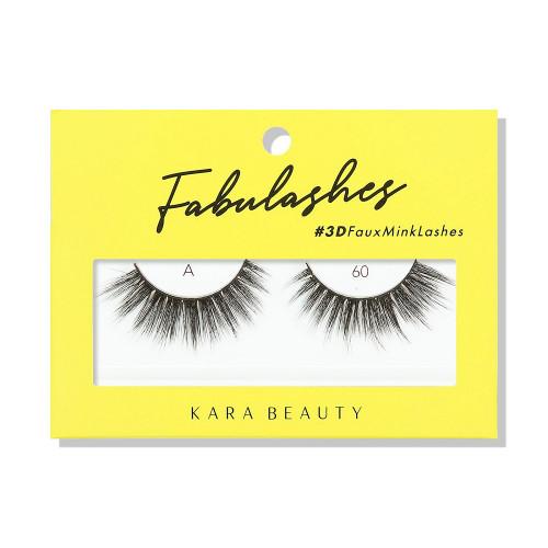 Kara Beauty A60 Fabulashes 3D Faux Mink Lashes
