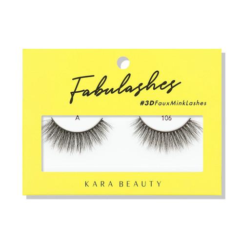 Kara Beauty A106 Fabulashes 3D Faux Mink Lashes