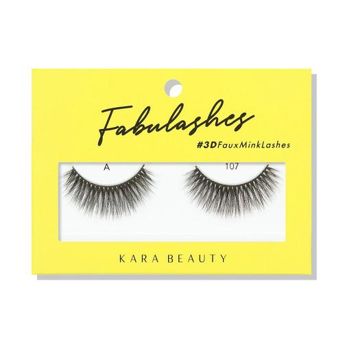 Kara Beauty A107 Fabulashes 3D Faux Mink Lashes