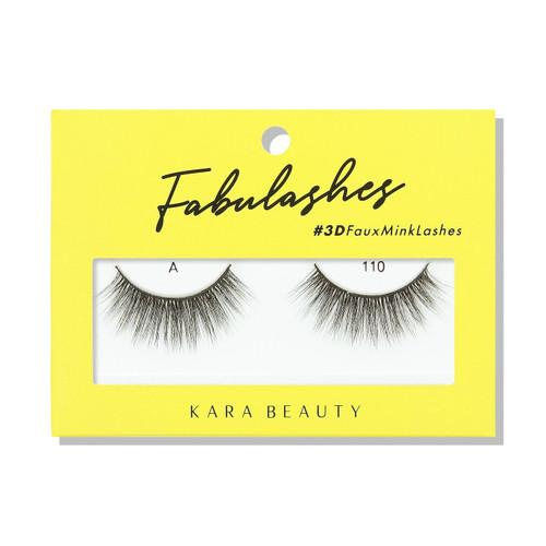 Kara Beauty A110 Fabulashes 3D Faux Mink Lashes