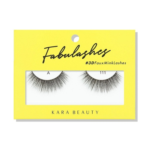 Kara Beauty A111 Fabulashes 3D Faux Mink Lashes