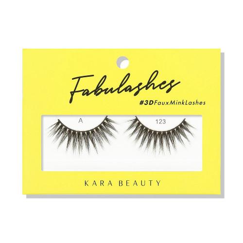 Kara Beauty A123 Fabulashes 3D Faux Mink Lashes
