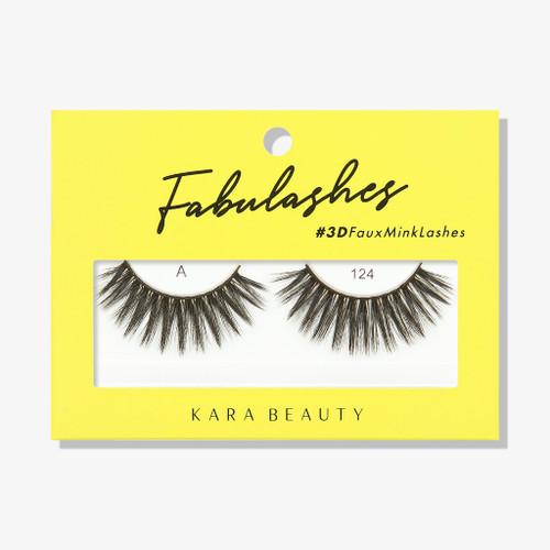 Kara Beauty A124 Fabulashes 3D Faux Mink Lashes