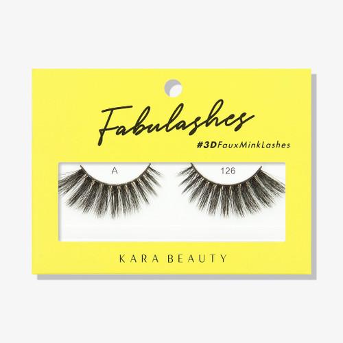 Kara Beauty A126 Fabulashes 3D Faux Mink Lashes