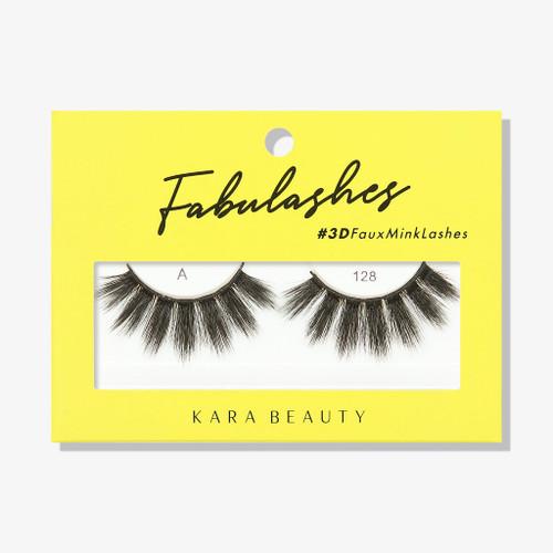 Kara Beauty A128 Fabulashes 3D Faux Mink Lashes