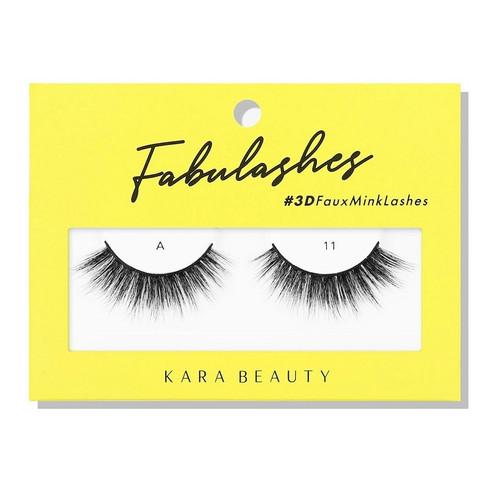 Kara Beauty A11 Fabulashes 3D Faux Mink Lashes