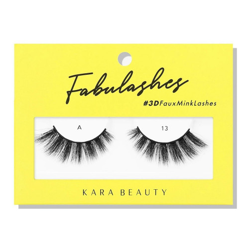 Kara Beauty A13 Fabulashes 3D Faux Mink Lashes