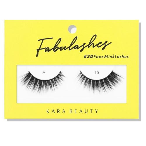 Kara Beauty A70 Fabulashes 3D Faux Mink Lashes