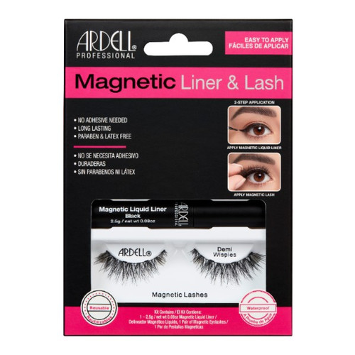 Ardell Magnetic Liquid Liner & Lash Kit - Demi Wispies