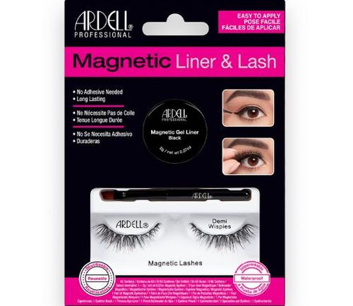 Ardell Magnetic Gel Liner & Lash Kit - Demi Wispies