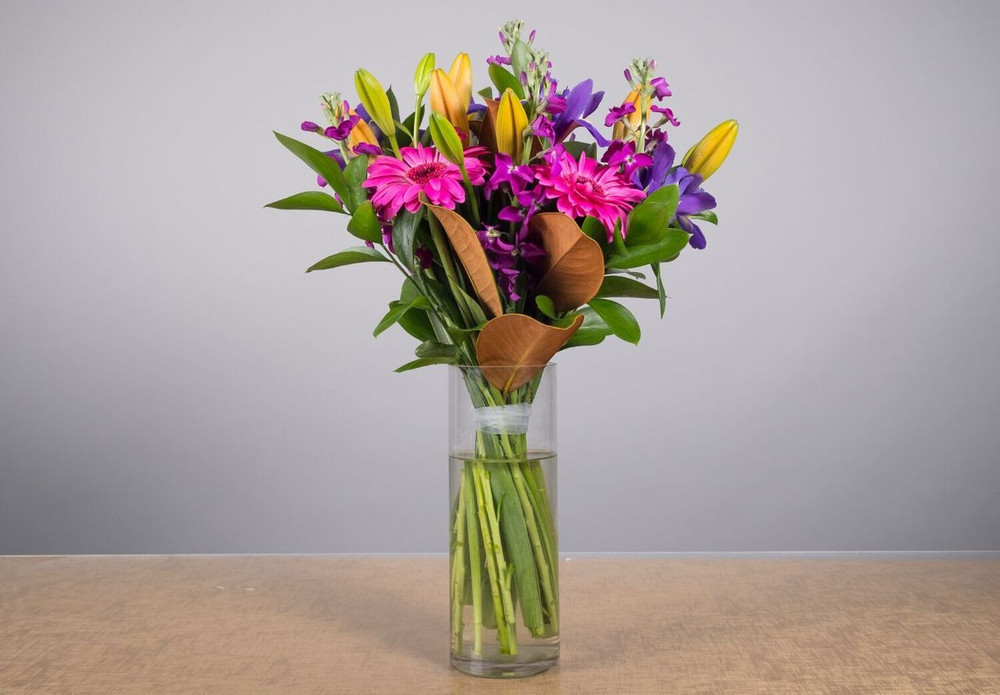 Vibrant Bouquet - Thank You, Birthday, Anniversary,  Sympathy, Condolence, Get Well