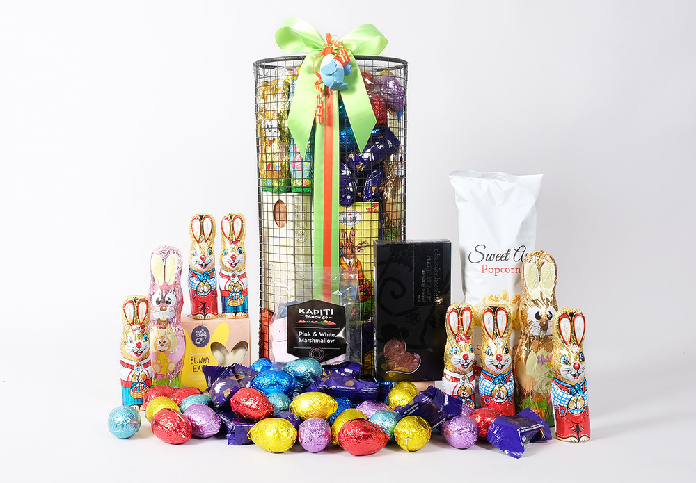 Easter Tower Gift Basket