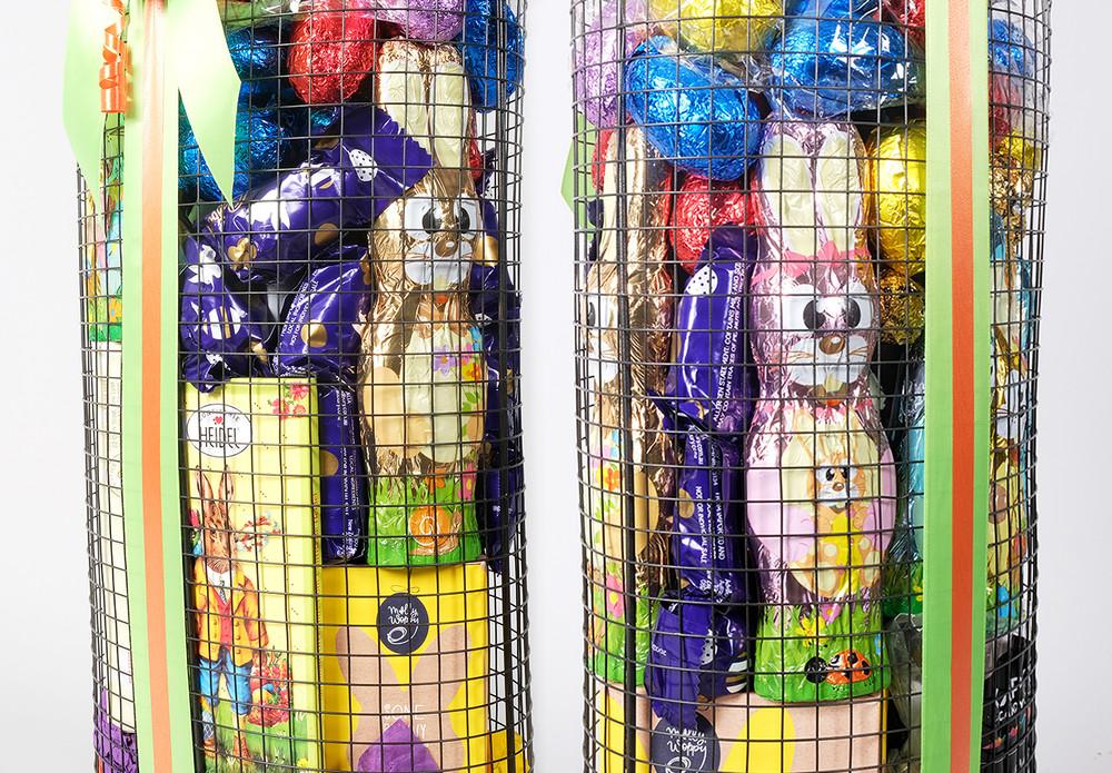 Easter Tower Gift Basket