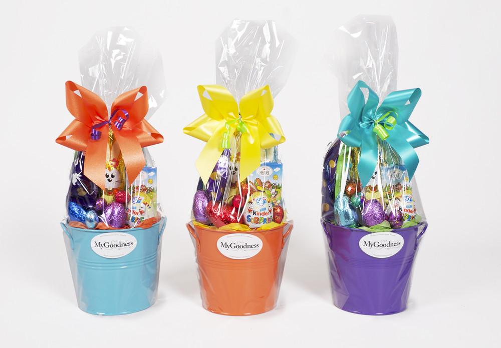 Bucket of Bunnies Easter Gift Basket