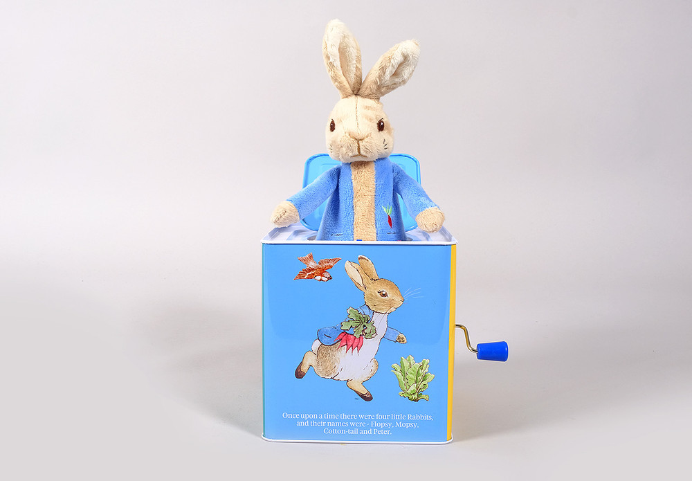 Peter Rabbit Jack In The Box